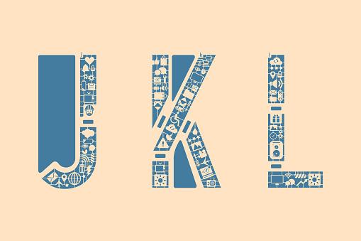 Icon fonts - JKL