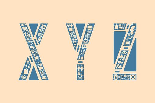 Icon fonts - XYZ