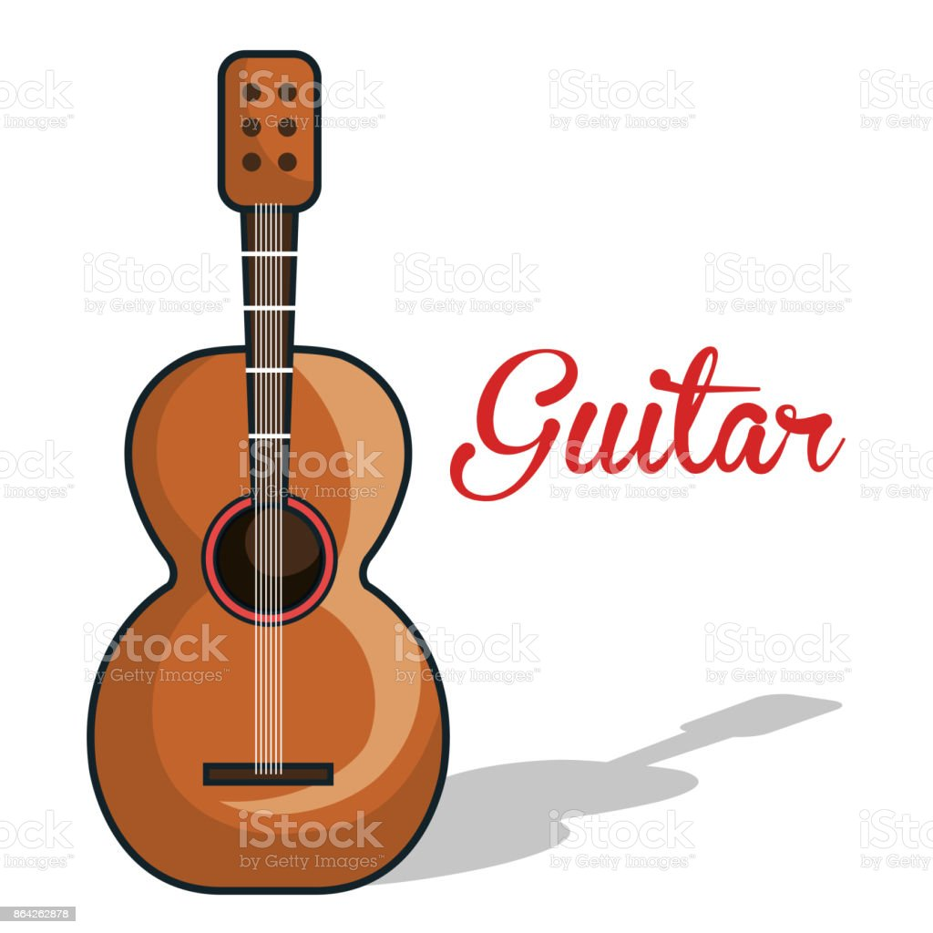 icon guitar mexican music graphic royalty-free icon guitar mexican music graphic stock vector art & more images of arts culture and entertainment