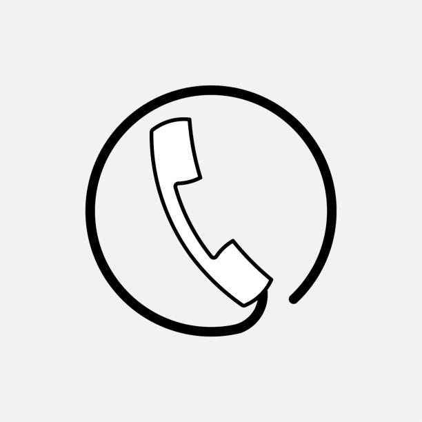 stockillustraties, clipart, cartoons en iconen met pictogram handset ondersteuning, communicatie - call center