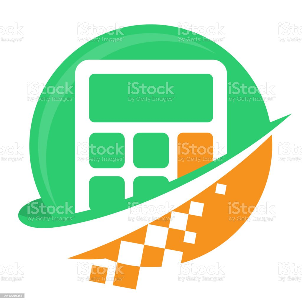 icon icon for digital business for budget planning service providers