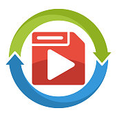 icon,  icon for multimedia file format converter software