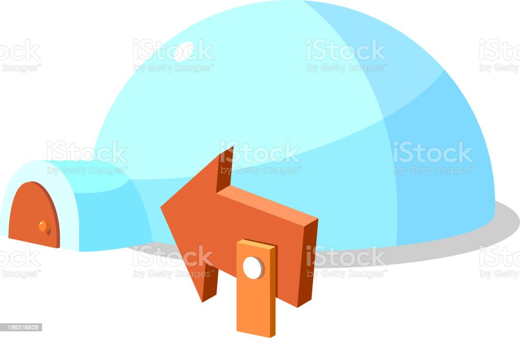 Icon Igloo Stock Vector Art & More Images of Clip Art - iStock