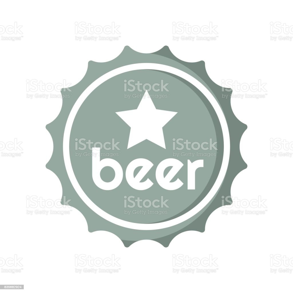beer bottle tops clip art, vector images & illustrations - istock