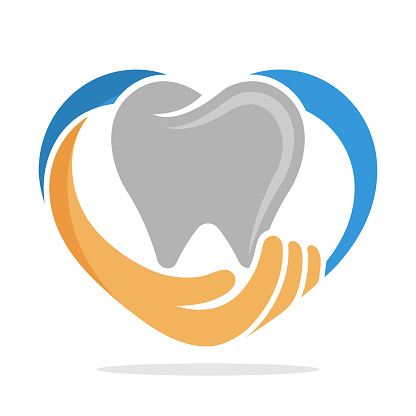 icon illustration with the concept of dental care