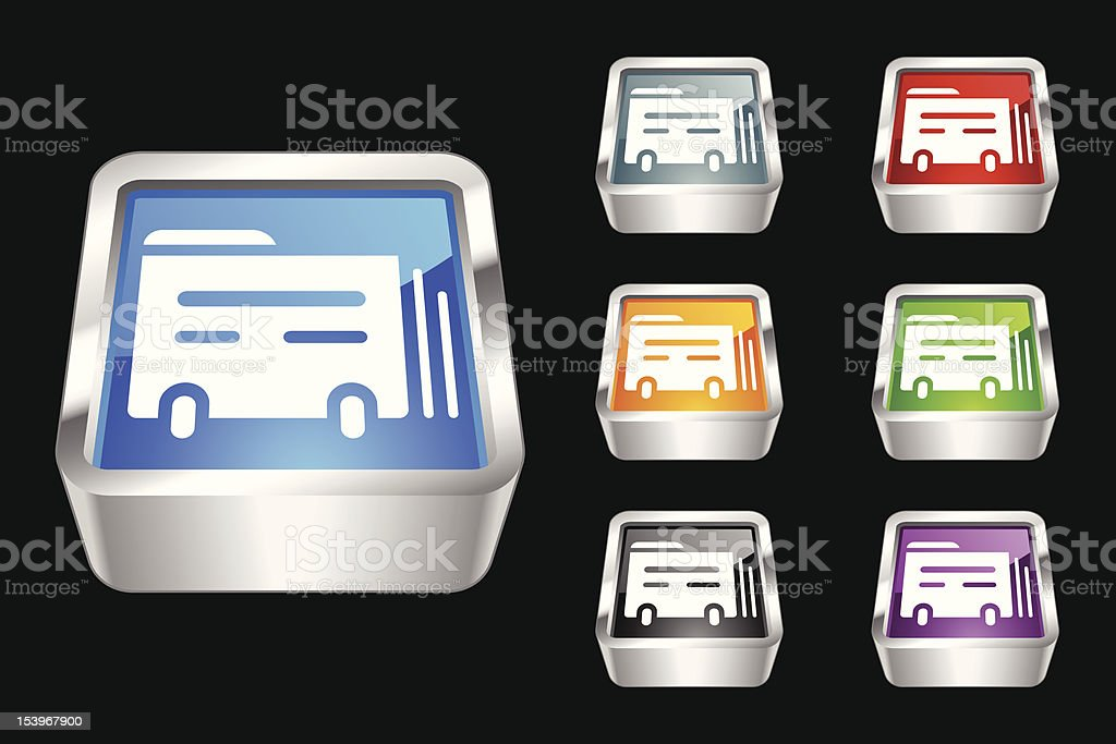 3D Icon | Index Card royalty-free stock vector art