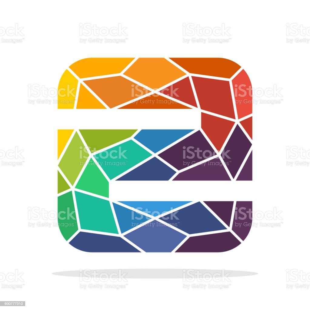 Symbol Anfangsbuchstaben Z Mit Dem Konzept Der Bunten Mosaik Stil  Lizenzfreies Symbolanfangsbuchstaben Z Mit
