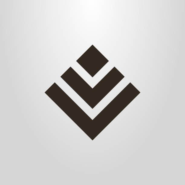 symbol für eine abstrakte figur der quadrate - morphing stock-grafiken, -clipart, -cartoons und -symbole