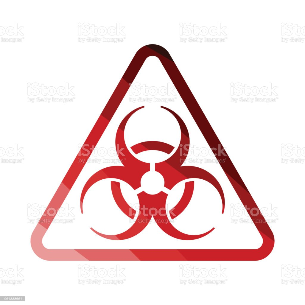 Icon of biohazard royalty-free icon of biohazard stock vector art & more images of biology