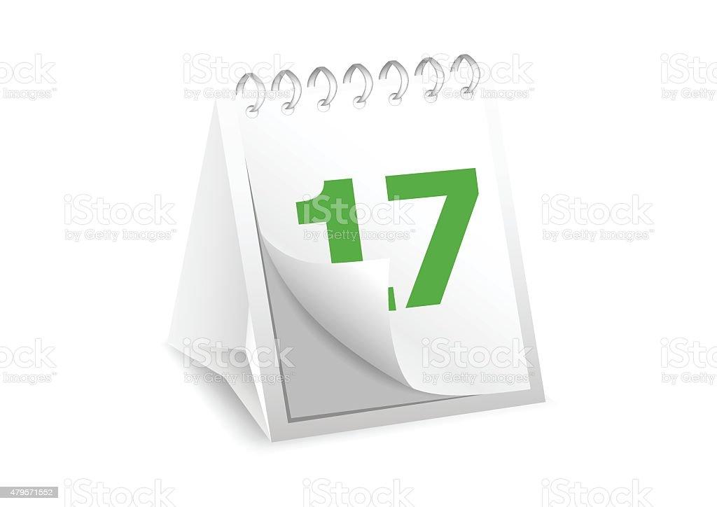 Symbol Kalender – Vektorgrafik