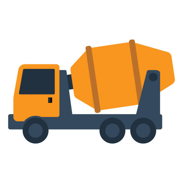 Concrete Truck Illustrations, Royalty-Free Vector Graphics ...