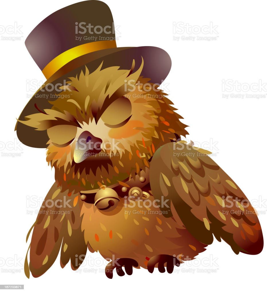 icon owl royalty-free stock vector art