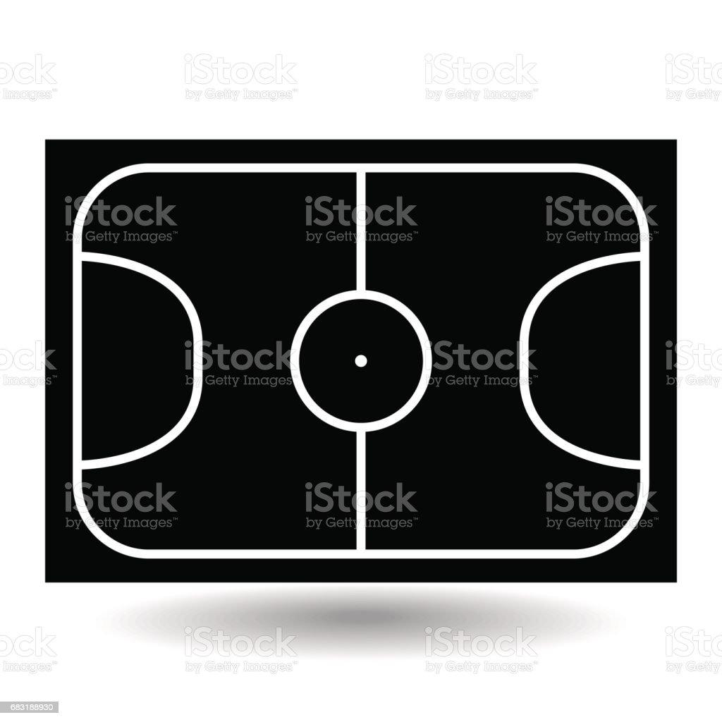 圖示的操場足球,向量圖。 免版稅 圖示的操場足球向量圖 向量插圖及更多 休閒活動 - 主題 圖片