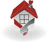 Icon of a icon real estate first buyers couple.