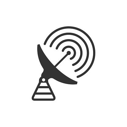 BW icon - Satellite receiver