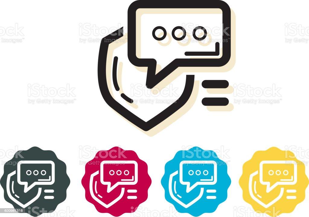 Icon - Security Communication ilustração de icon security communication e mais banco de imagens de abstrato royalty-free