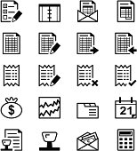 Icon series - Audit & Accounting