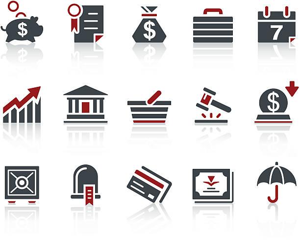 stockillustraties, clipart, cartoons en iconen met copo icon series - business/banking - aandelen