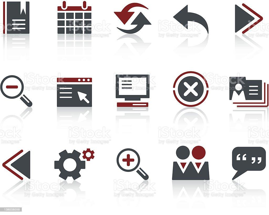 COPO Icon Series - Web & Internet vector art illustration