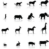 Icon Set, Animals