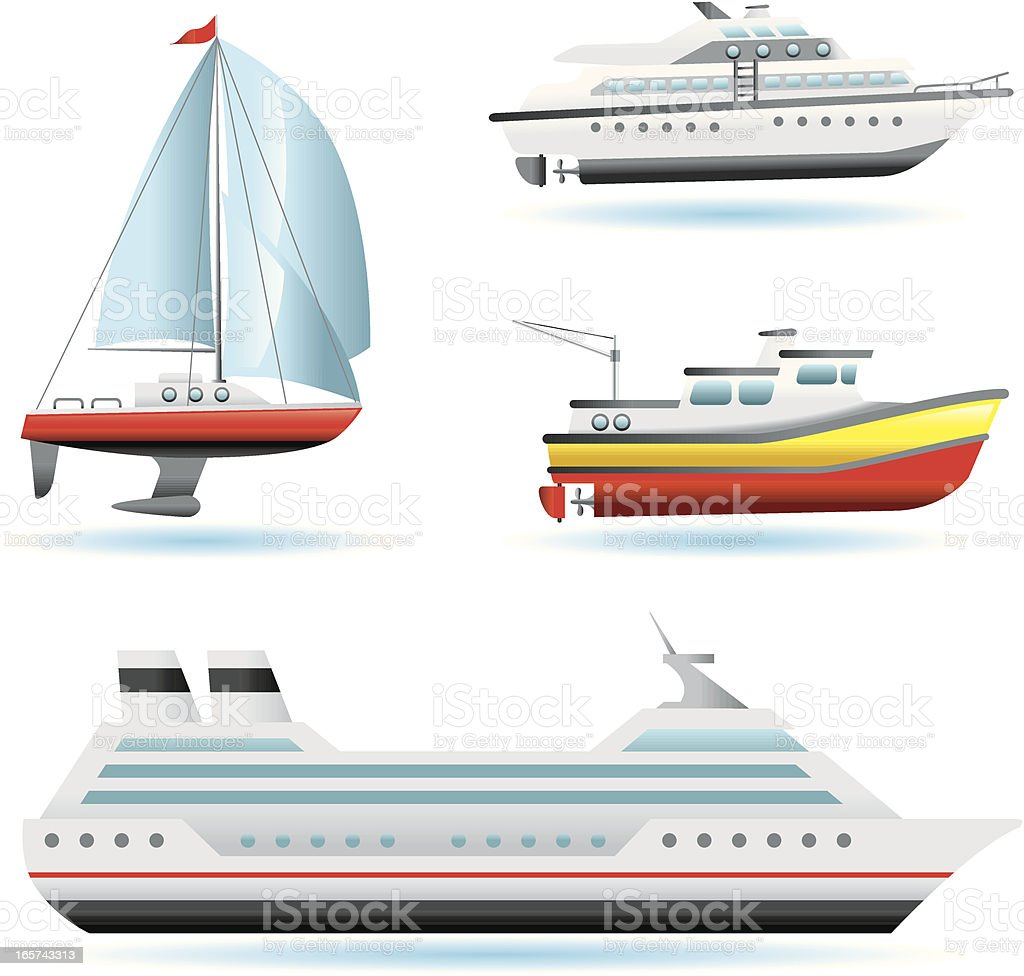 Icon Set, boats and ships royalty-free icon set boats and ships stock vector art & more images of amphibious vehicle