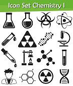 Icon Set Chemistry I