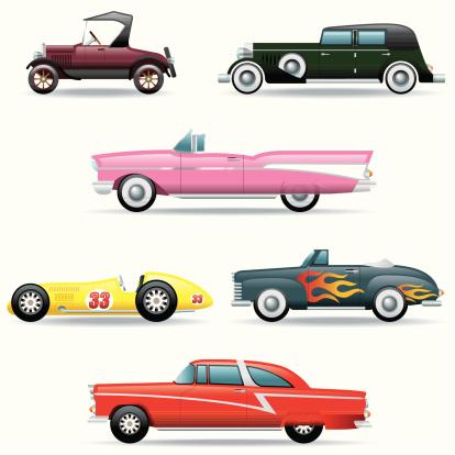 Icon Set, Classic Cars