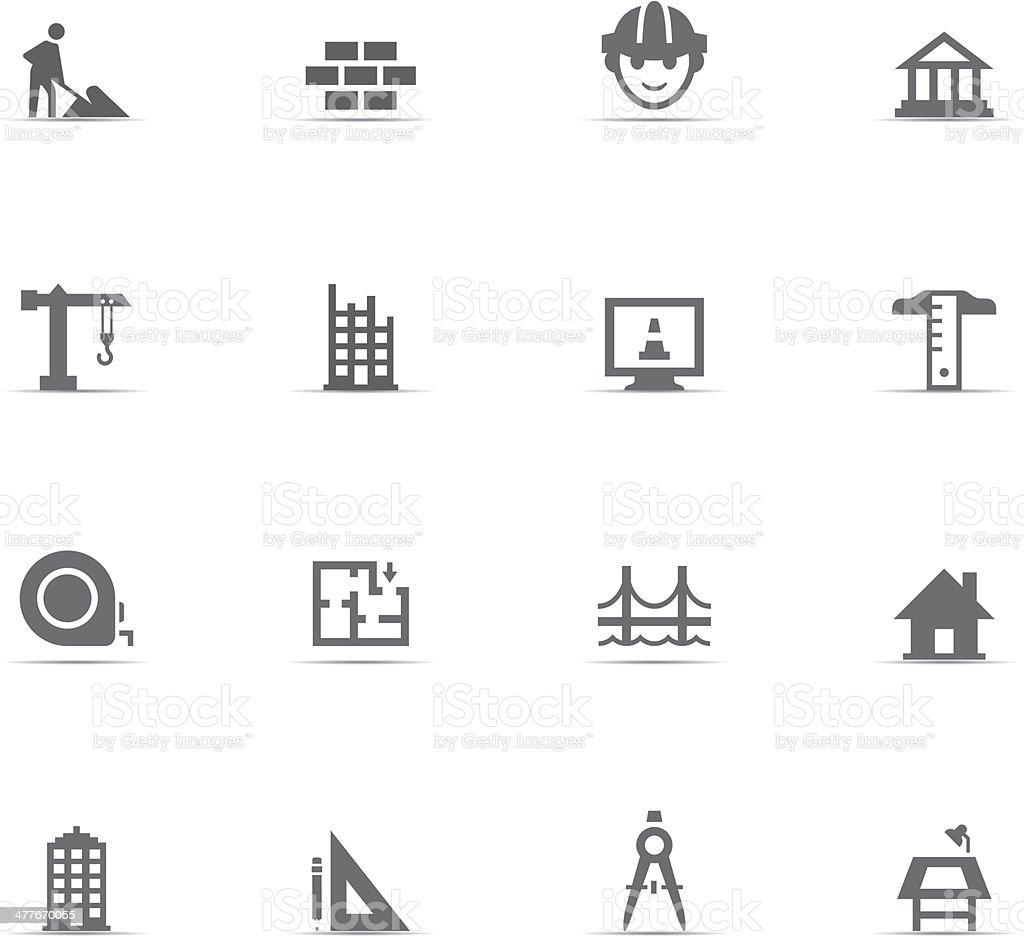 Icon Set, Construction royalty-free stock vector art