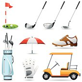 Icon Set, golf