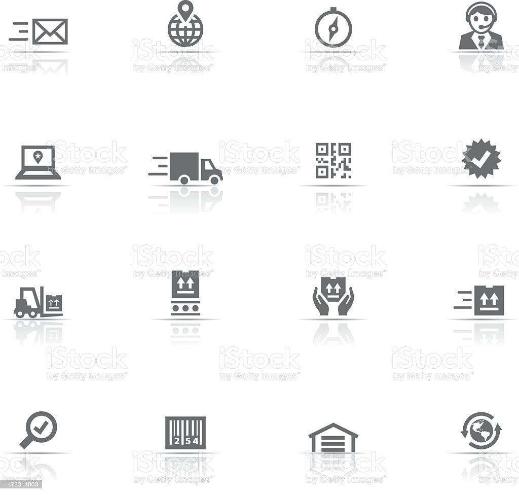 Icon Set, Logistic vector art illustration