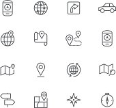 Icon Set, Navigation