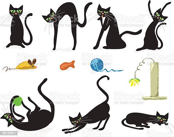 Icon set of black cats and colorful cat toys vector id93130817?b=1&k=6&m=93130817&s=612x612&h=xrvrqcrbjmraow7eaaosyhqpnqevf2uc4zkpluzgevm=