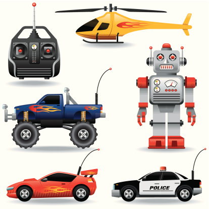 Icon set, Remote controlled toys