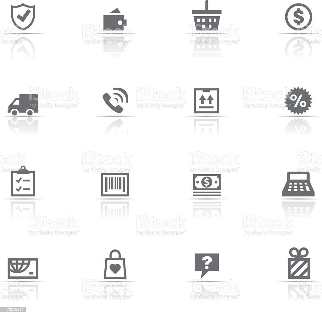 Icon Set, Shopping royalty-free stock vector art