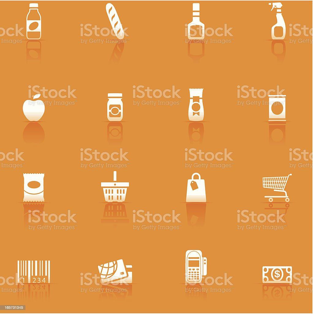 Icon Set, Supermarket royalty-free icon set supermarket stock vector art & more images of alcohol