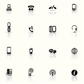 Icon Set, Telephony