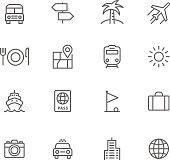 Icon Set, Travel