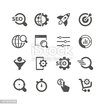Unique SEO related icon can beautify your designs & graphic
