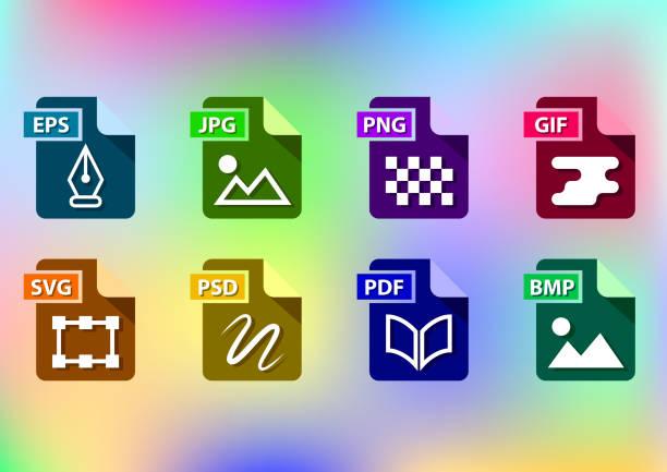 pictogrammensetvectorkunst illustratie
