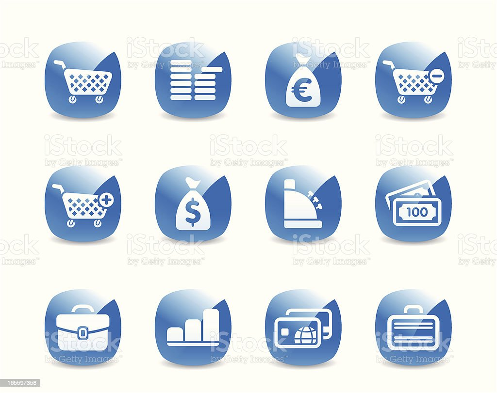 Icon Set royalty-free icon set stock vector art & more images of abstract