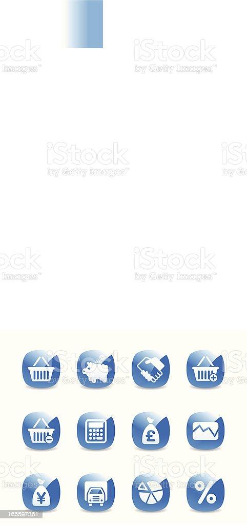 Conjunto de ícones ilustração de conjunto de ícones e mais banco de imagens de abstrato royalty-free