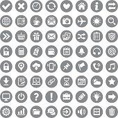 Icon set. Vector image.