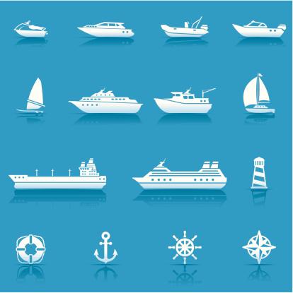 Icon Set, Water transportation