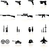 Icon set Weapons