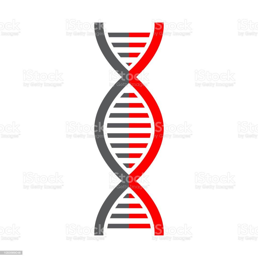 Ilustración De Ciencia De La Molécula De Adn Icono