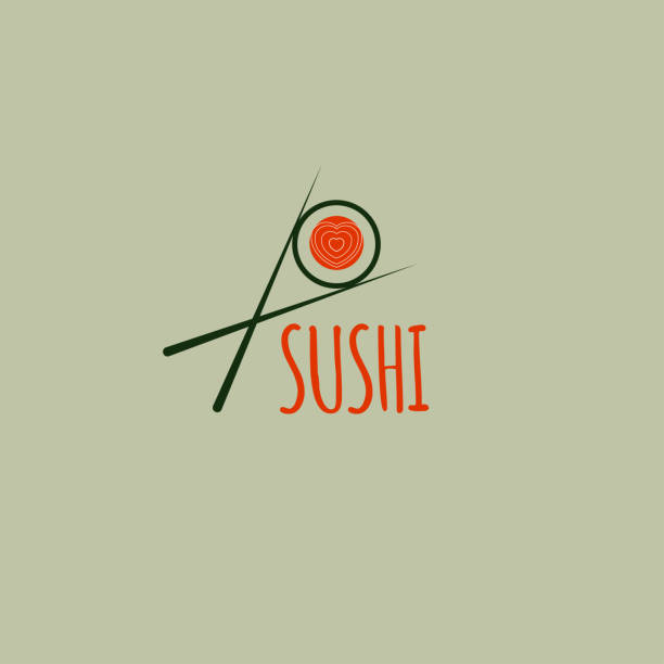 icon sushi - sushi stock illustrations