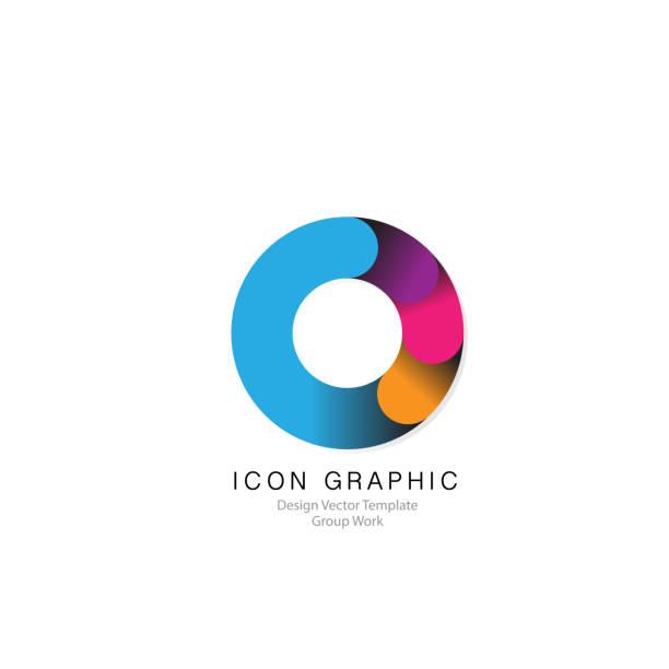 icon symbol logo zeichen grafik vektor vorlage design-element - bewegungsaktivität stock-grafiken, -clipart, -cartoons und -symbole