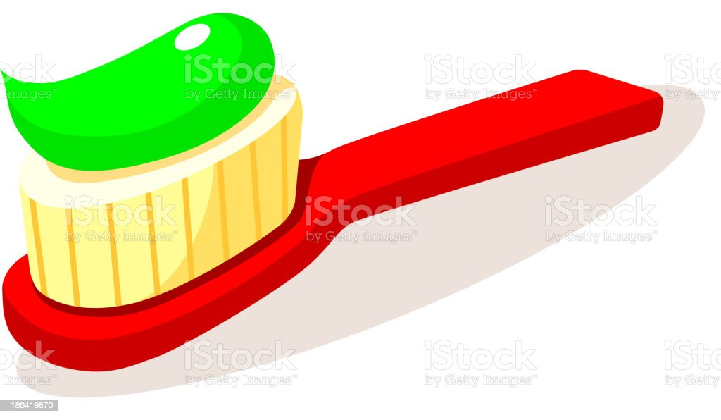 icon tooth brush royalty-free stock vector art