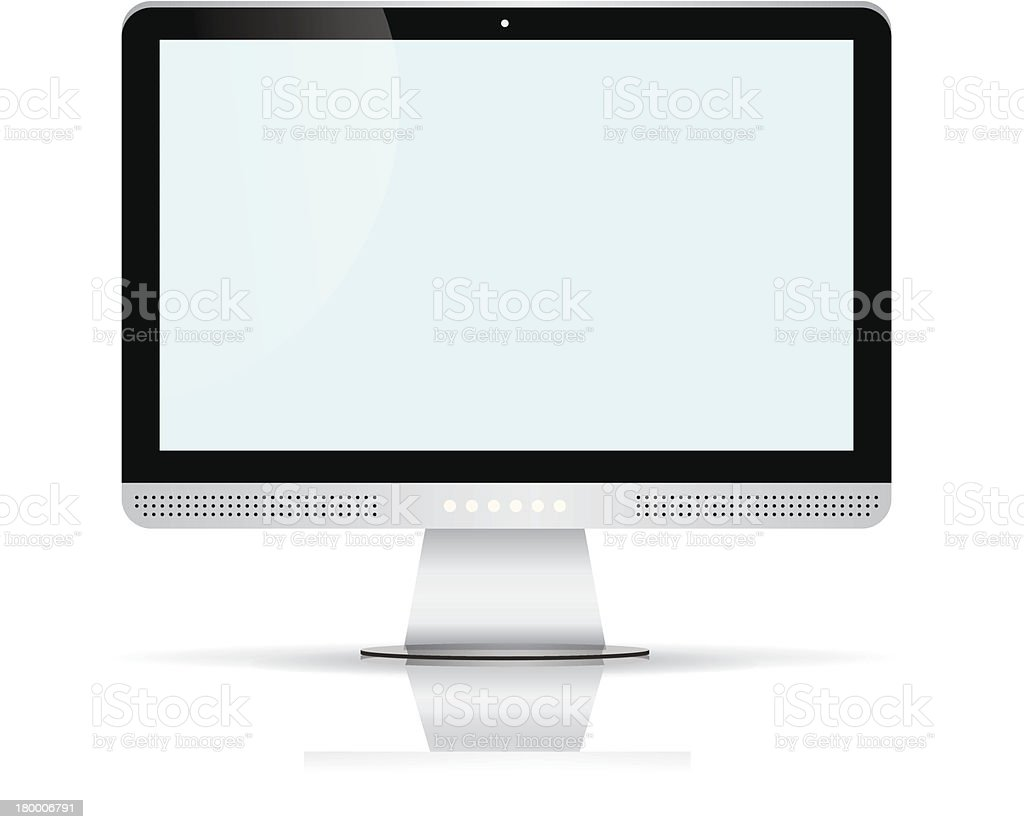 LCD icon royalty-free lcd icon stock vector art & more images of black color