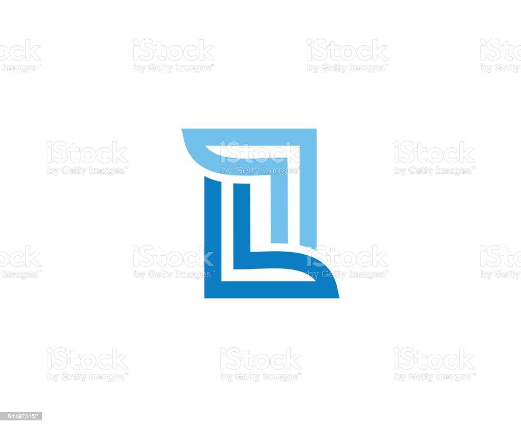 L-Symbol – Vektorgrafik